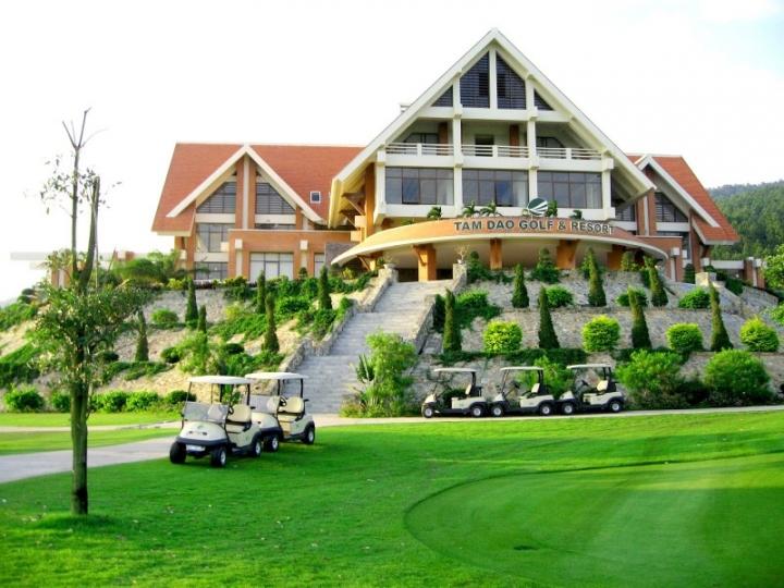 Giá Sân golf Tam Đảo