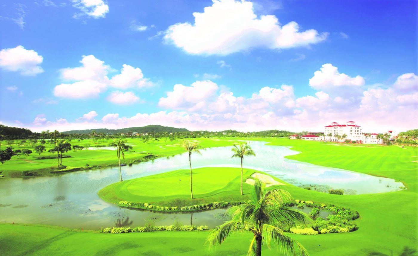 Sân golf Sono Belle Hải Phòng - sân gôn Sông Giá