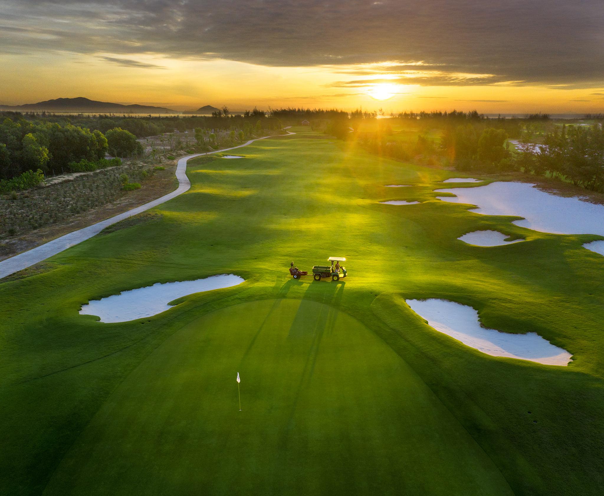 thiết kế sân golf Vinpearl Nam Hội An