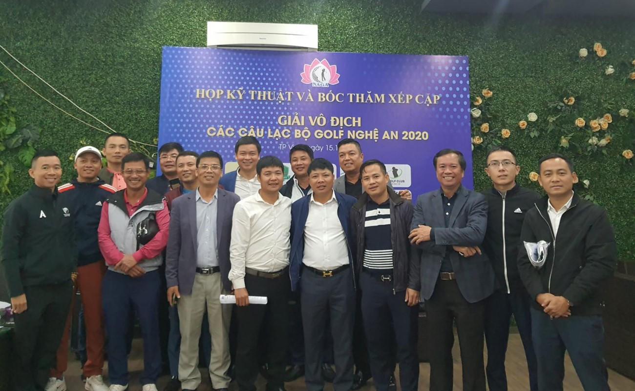giải Vô địch các CLB golf Nghệ An 2020