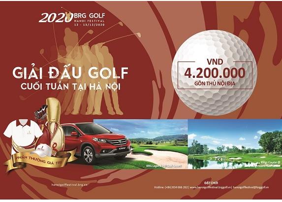 giải BRG Golf Hanoi Festival 2020