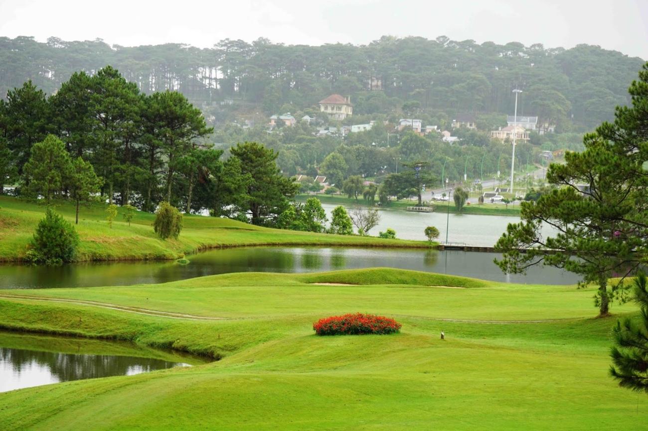 top 3 sân golf đáng chơi nhất tại Đà Lạt, sân golf tốt nhất tại Đà Lạt