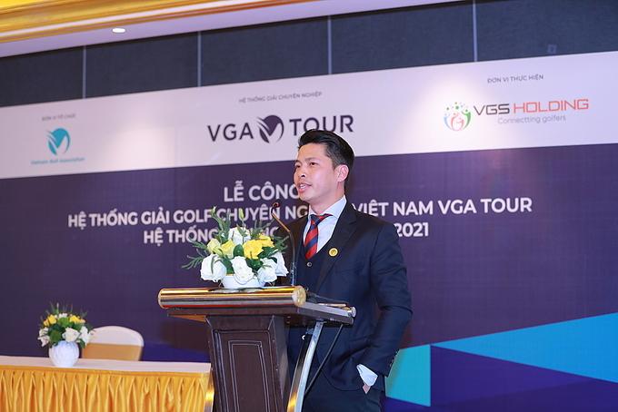 VGA tour golf Việt Nam